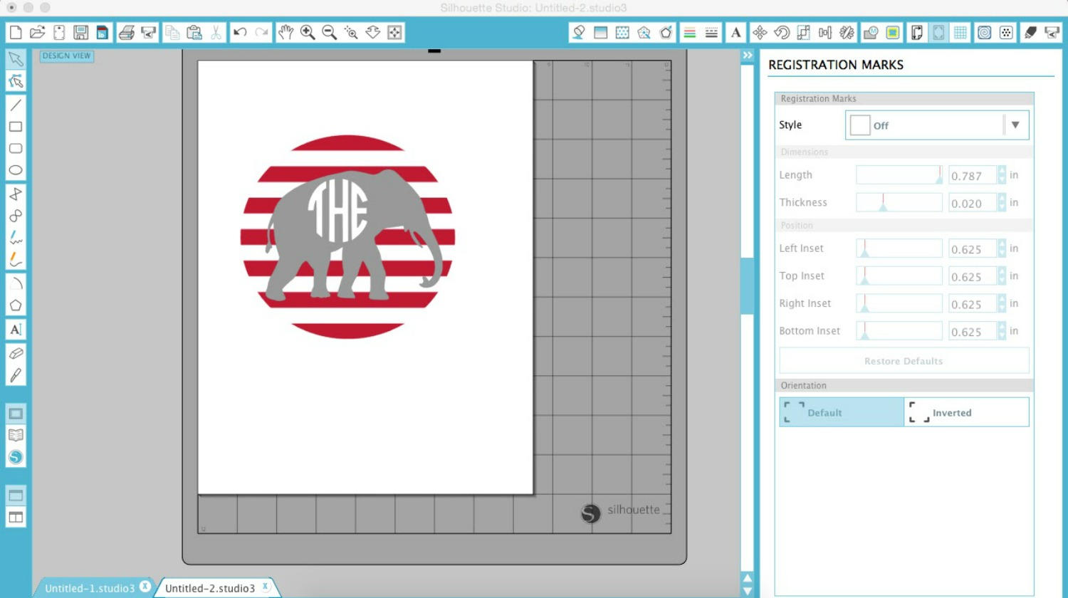 This is an image of Silhouette Printable Heat Transfer regarding transfer sheets