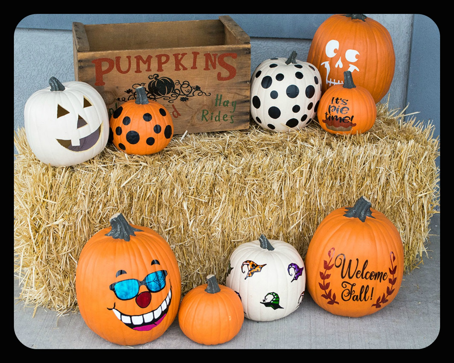 Easily Decorate Faux Pumpkins With Vinyl Expressions Vinyl