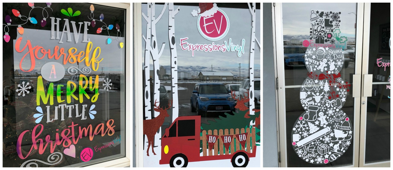 Vinyl Countdown - Christmas Window Edition! - Expressions Vinyl